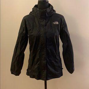 Girls Large North Face Raincoat